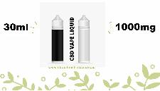 CBD Vape Liquid - 30ml - Full Spectrum (1000mg)